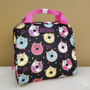 Cat Donuts Lunch Bag Betsey Johnson Insulated Bag